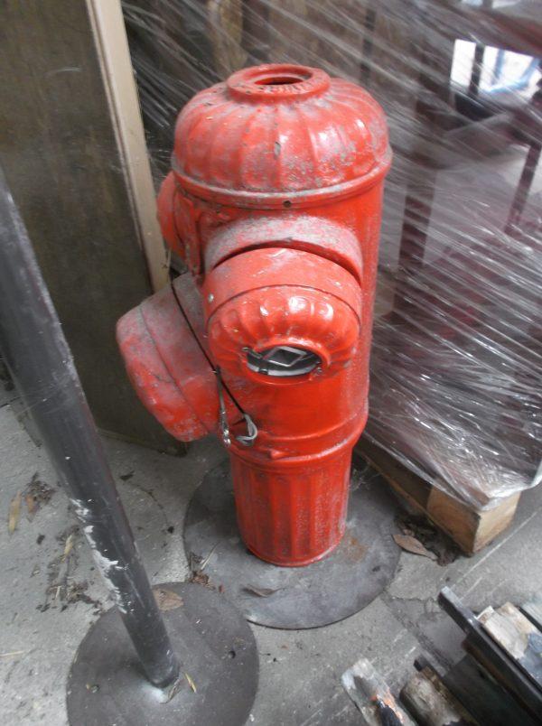 Bouche à incendie