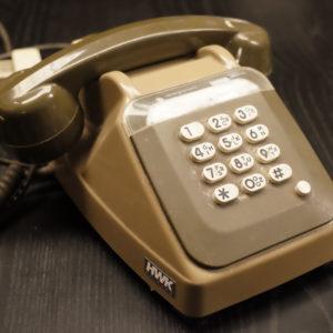 Téléphone fixe années 90