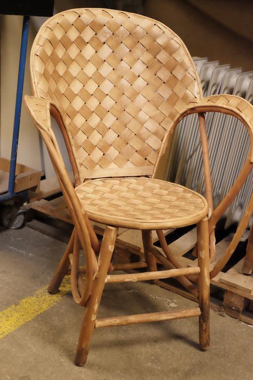 fauteuil vintage en osier transpa accessoires. Black Bedroom Furniture Sets. Home Design Ideas