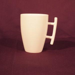 Mug blanc uni anse design