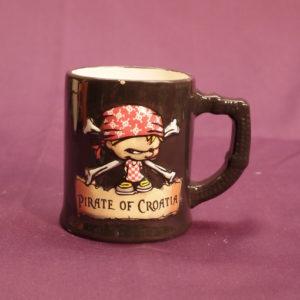 Mug fantaisie décor imprimé pirate